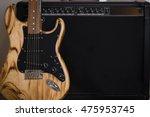 Fender Guitar In The Studio On...