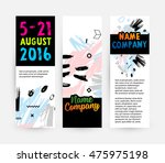 hand drawn universal art.... | Shutterstock .eps vector #475975198