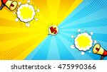 versus letters fight... | Shutterstock .eps vector #475990366