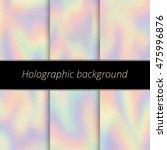 hologram background.... | Shutterstock .eps vector #475996876