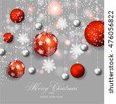 christmas  ball   Shutterstock .eps vector #476056822