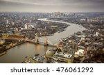 London  England   Aerial...