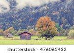 the allgau alps near the town...   Shutterstock . vector #476065432