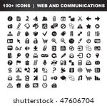 web and communications icons... | Shutterstock .eps vector #47606704