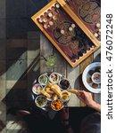 traditional lebanese cafe in... | Shutterstock . vector #476072248