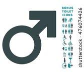 mars symbol icon and bonus... | Shutterstock . vector #476074426
