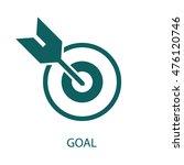 goal icon | Shutterstock .eps vector #476120746