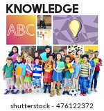education learning knowledge... | Shutterstock . vector #476122372