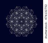 geometric element  vector.   Shutterstock .eps vector #476132752
