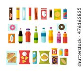vending machine product items... | Shutterstock . vector #476163835