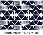 geometric ethnic pattern design ... | Shutterstock .eps vector #476175208