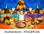 traditional mexican day of the... | Shutterstock . vector #476189146
