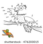 numbers game  education dot to... | Shutterstock .eps vector #476203015