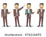 businessman cartoon character... | Shutterstock .eps vector #476216692
