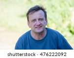 portrait of middle aged man... | Shutterstock . vector #476222092