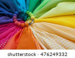 Fabric Of All Colors Of The...