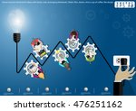 vector business brainstorm...   Shutterstock .eps vector #476251162