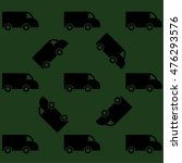 ector pattern with cars on... | Shutterstock .eps vector #476293576