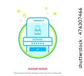 account access. mobile app...