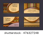 business card or visiting card... | Shutterstock .eps vector #476327248