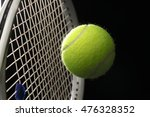 a tennis racket with tennis... | Shutterstock . vector #476328352