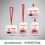 id card woman | Shutterstock .eps vector #476407336