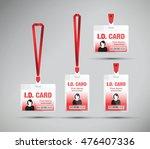 id card woman | Shutterstock .eps vector #476407336