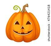 vector jack o lantern ... | Shutterstock .eps vector #476421418