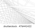 roof design   background ... | Shutterstock . vector #476441422