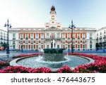the old post office at puerta... | Shutterstock . vector #476443675