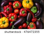 variety of colorful red  green  ... | Shutterstock . vector #476472355