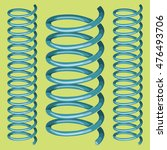 2 Metal Isolated Springs On...