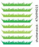 backgrounds of green grass ... | Shutterstock .eps vector #476494015