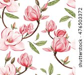 beautiful watercolor pattern...   Shutterstock . vector #476503372