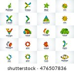 vector abstract business logo... | Shutterstock .eps vector #476507836
