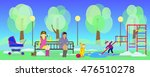 image of spring park and...   Shutterstock .eps vector #476510278