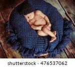 incredible newborn baby sleeps... | Shutterstock . vector #476537062