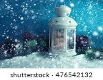 christmas decoration with... | Shutterstock . vector #476542132