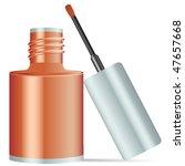 nail polish   vector... | Shutterstock .eps vector #47657668