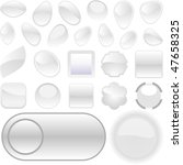 web buttons for design. vector... | Shutterstock .eps vector #47658325