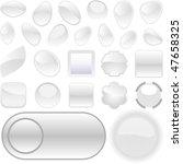 web buttons for design. vector...   Shutterstock .eps vector #47658325