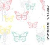 vector seamless grunge pastel... | Shutterstock .eps vector #47662060