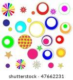 abstract vector background. | Shutterstock .eps vector #47662231