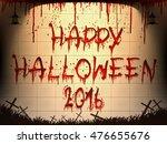 halloween  background set of... | Shutterstock .eps vector #476655676
