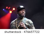 50 cent shares the headlining... | Shutterstock . vector #476657722