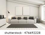 livingroom under the roof... | Shutterstock . vector #476692228