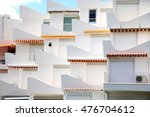 White Balconies Of Holiday...