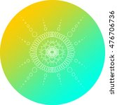 mandala design   Shutterstock . vector #476706736