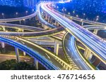 crowded cars driving at flyover ... | Shutterstock . vector #476714656