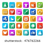 products for children  colored... | Shutterstock .eps vector #476762266